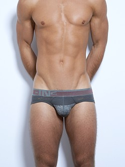 C-IN2 Hand Me Down Lo No Show Brief Ash Grey