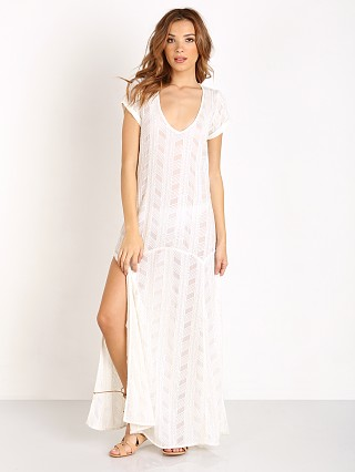 Beach Riot Cottonwood Dress White