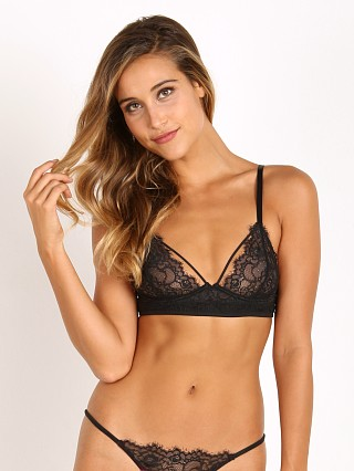 Beach Bunny Love Haus Barely There with Lace Camilette Black