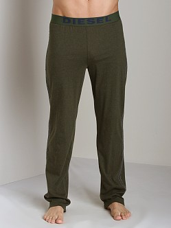 Diesel Adonis Cotton Jersey Lounge Pants Green