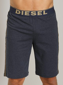 Diesel Hans Cotton Jersey Lounge Shorts Navy