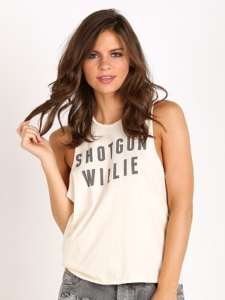 MATE the Label Mate Tank Shotgun Vintage White