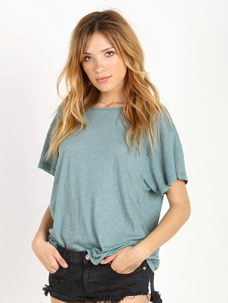 WILDFOX Manchester Tee Cold Tile