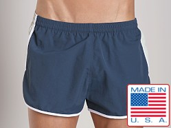 Sauvage Active Retro Ripstop Nylon Short Charcoal