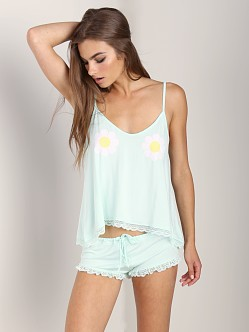 WILDFOX Cami Set Dream On Dreamer Heavenly Blue