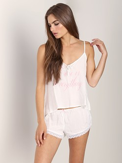 WILDFOX Summer Sleep Set Love is Everything/Cheeky Hearts Ivory