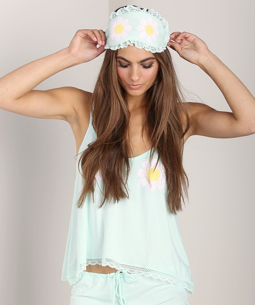 WILDFOX Eye Mask Flower Girl Heavenly Blue