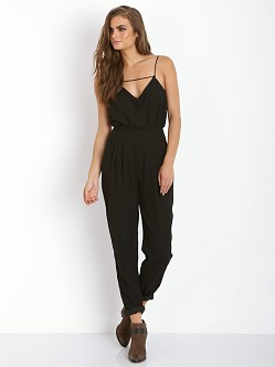 Finders Keepers The Someday Jumpsuit Black