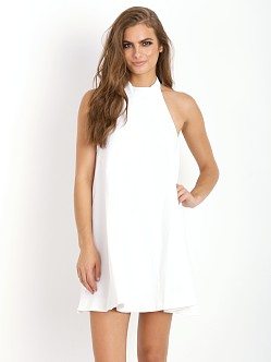 Finders Keepers Once Again Dress White