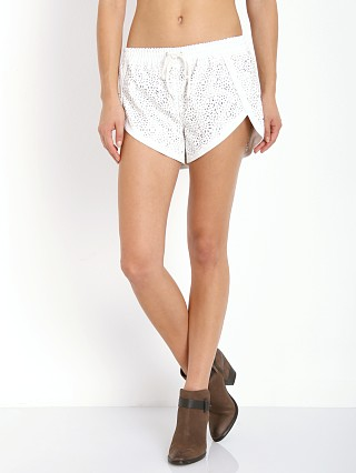 Finders Keepers Atlantic City Shorts Ivory