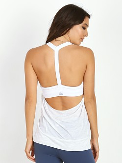 alo yoga Current Tank White Fleek