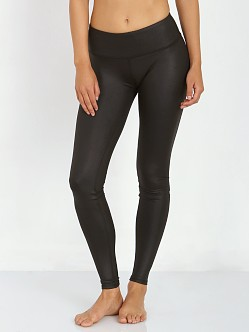 alo yoga Airbrush Legging Black Glossy