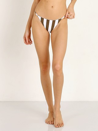 Mikoh Kingston Bikini Bottom Retro Stripe