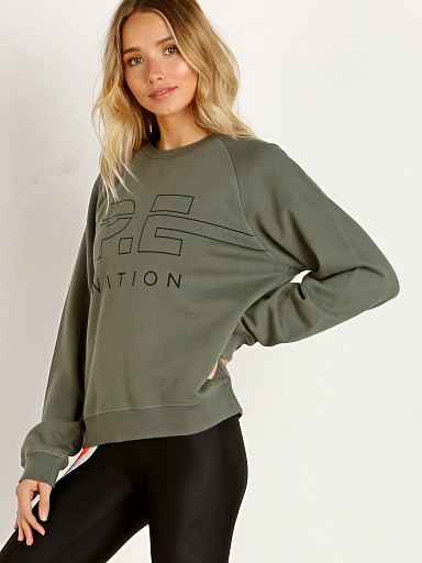 PE NATION Swingman Sweater Kahm