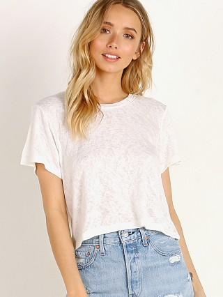 You may also like: LNA Clothing Rian Crop Tee White