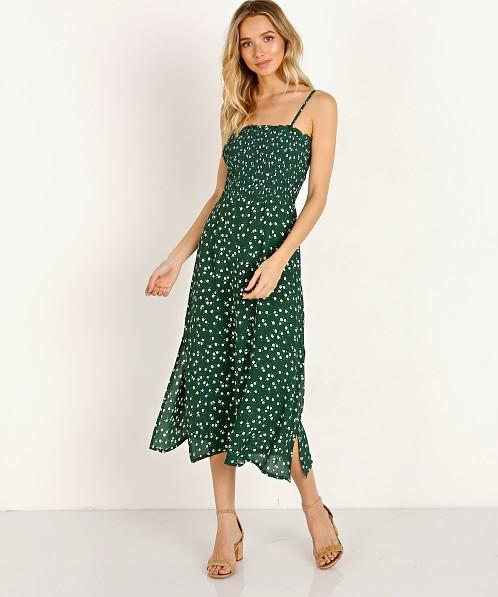 e6abe180981d Faithfull the Brand Solange Midi Dress Betina Floral Print FF1256-BFG -  Free Shipping at Largo Drive