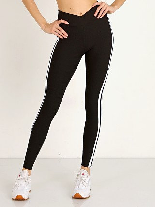 Year of Ours Thermal Racer Legging Black/White