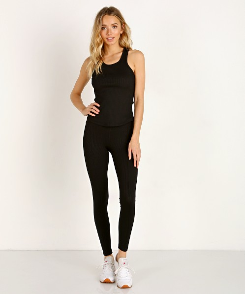 Year of Ours Sporty Tank Black