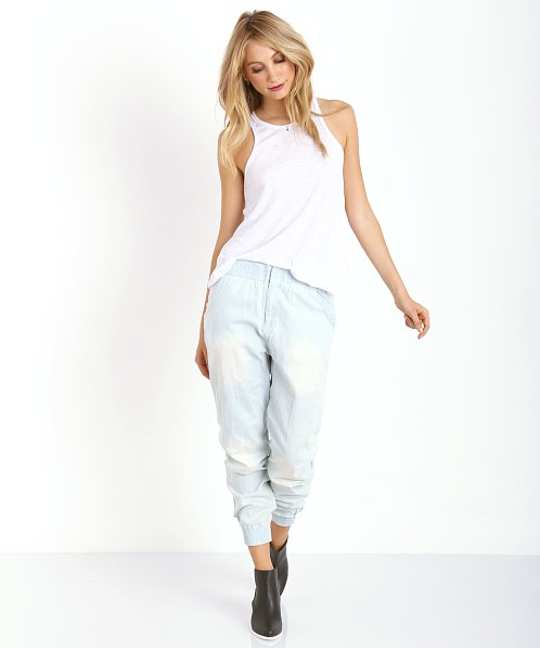 One Teaspoon Silver Rebel Trackies