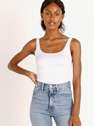 You may also like: Joah Brown Lace Trim Tank White