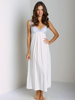 Only Hearts Venice Gown With Lace Antique White with Blue