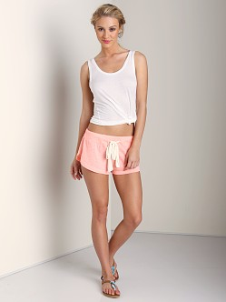 Eberjey Heather Shorts Melon Glow