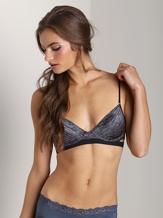 Free People Double Wing Demi Bra Black