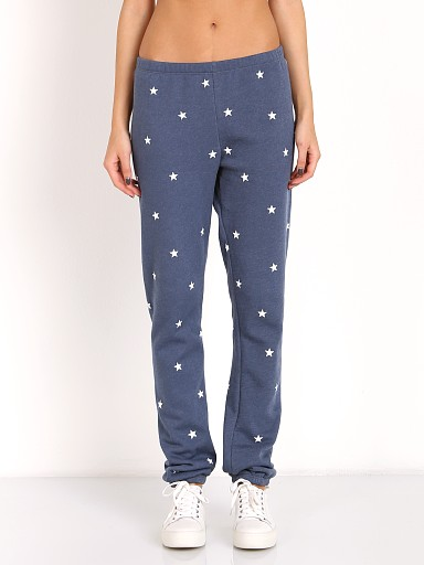 WILDFOX Football Star Pant After Midnight Blue
