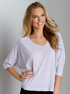 Splendid Boxy Seaming Top Mist