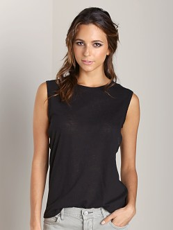 LNA Clothing Vista Tank Black