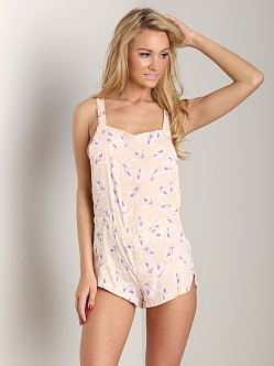Acacia Snapper Silk Stretch Short Overall Island Orchid