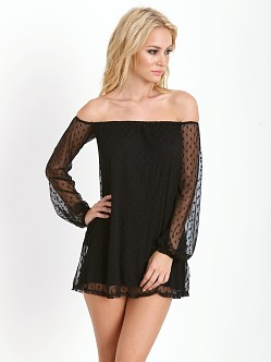 For Love & Lemons Precioso Dress Black Dot