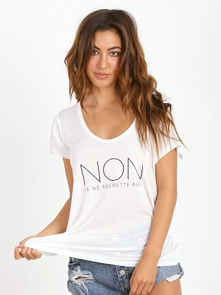 Stillwater Scoop Neck Tee Non Regrette White