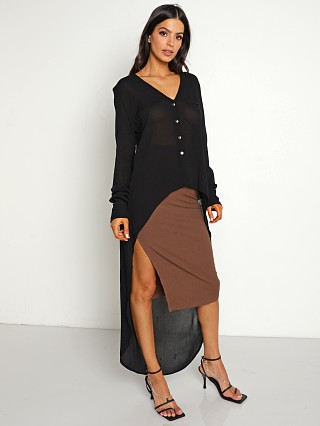 Stillwater Maxi Blouse Black