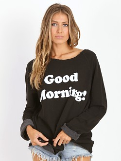 WILDFOX Good Morning Morning Sweatshirt