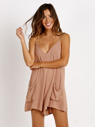 MATE the Label Rileyh Romper Sand