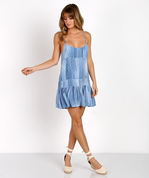 9daa8ce6ca Indah Juniper Mini Dress Indigo Casablanca JUNIPER-PC17 - Free Shipping at Largo  Drive