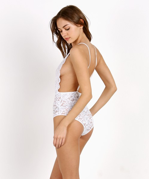 Hot As Hell Comin' In HAHT Bodysuit Blanc