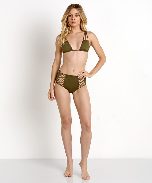 San Lorenzo Reversible High Waisted Bikini Bottom