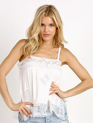 Spell Peaches Cami White