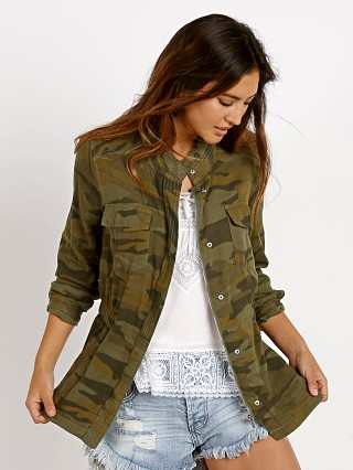Splendid Camo Jacket Military Olive