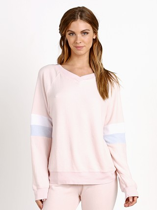 WILDFOX Basic Sweater Pink Gloss