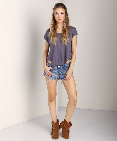 Free People Sun Kissed Tee Night