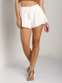 Free People Eyelet Short Ivory