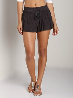 Free People Eyelet Short Storm