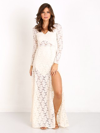 Nightcap Jirapa Lace Gown Ivory