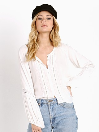 Auguste Gypsy Sleeved Shirt White