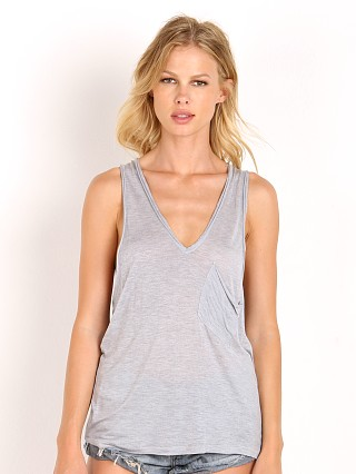 One Teaspoon Soho Wool Tank Grey Marle