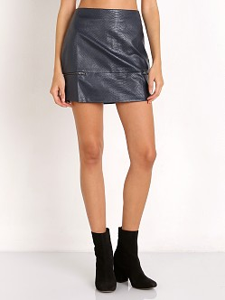 Good To Be Bad Mini Skirt in Navy Lovers + Friends