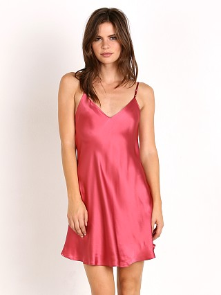 Malibu Road Sophie Mini Slip Shiny Rasberry